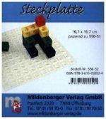 Steckplatte (zu Steckwürfel, allseitig steckbar)