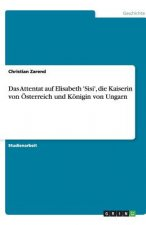 Attentat auf Elisabeth 'Sisi', die Kaiserin von OEsterreich und Koenigin von Ungarn