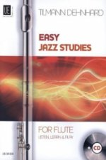 Easy Jazz Studies, für Flöte mit Audio-CD