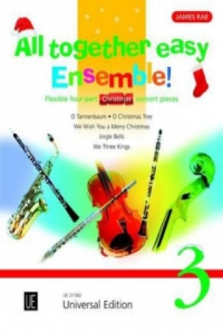 All together easy Ensemble!, für flexibles Ensemble / Klavier ad lib.. Vol.3