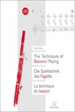 Die Spieltechnik des Fagotts. The Techniques of Bassoon Playing. La technique du basson, m. 2 Audio-CDs