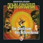 Geisterjäger John Sinclair - Im Zentrum des Schreckens, 1 Audio-CD