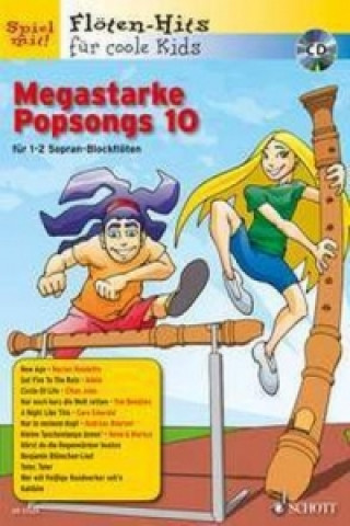 Megastarke Popsongs, 1-2 Sopran-Blockflöten. H.10