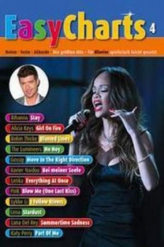 Easy Charts, für Klavier. Bd.4