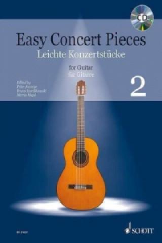 Easy Concert Pieces, für Gitarre. Bd.2