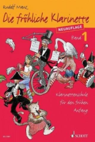 Die fröhliche Klarinette, Lehrbuch. Bd.1