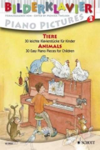 Tiere, für Klavier. Animals, für Klavier