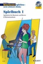 Klarinette spielen - mein schönstes Hobby, Spielbuch, 1-2 Klarinetten u. Klavier, m. Audio-CD. Bd.2