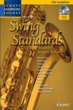 Swing Standards, für Alt-Saxophon, Einzelstimme u. Klaviersatz, m. Audio-CD