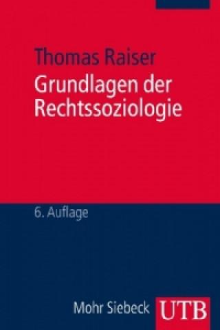 Grundlagen der Rechtssoziologie