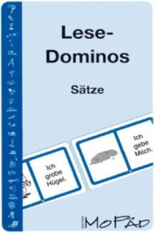 Lese-Dominos, Sätze
