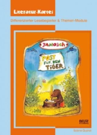 Janosch Post für den Tiger, Literatur-Kartei
