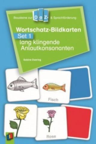 Wortschatz-Bildkarten. Set.1