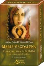 Maria Magdalena, Meditationskarten m. Anleitung