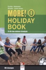 MORE! Holiday Book, m. Audio-CD. Bd.1
