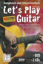 Let's Play Guitar, m. DVD u. 2 Audio-CDs