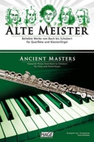 Alte Meister, für Querflöte und Klavier/Orgel, Querflötenstimme
