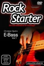 Rockstarter, E-Bass, 1 DVD. Vol.1
