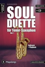 Soul Duette für Tenor-Saxophon, m. Audio-CD. Vol.1