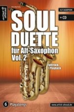 Soul Duette, für Alt-Saxophon, m. Audio-CD. Vol.2