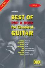 Best of Pop & Rock for Classical Guitar. Vol.10