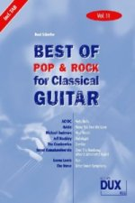 Best of Pop & Rock for Classical Guitar. Vol.11
