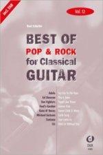 Best of Pop & Rock for Classical Guitar. Vol.12