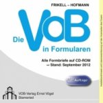 Die VOB in Formularen, CD-ROM