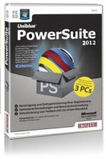Uniblue PowerSuite 2012, CD-ROM