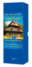Die deutschen Verben, Karteikarten