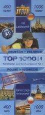 Top 1000 Polnisch Niveau A1, Karteikarten m. Lernbox. Tl.1
