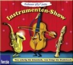 Professor Jecks Instrumenten-Show, 1 Audio-CD