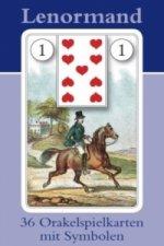 Lenormand Orakelkarten, Wahrsagekarten
