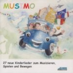 Musimo Lieder-CD, 1 Audio-CD