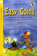 Easy Going, für Sopranblockflöte, m. Audio-CD. Bd.2
