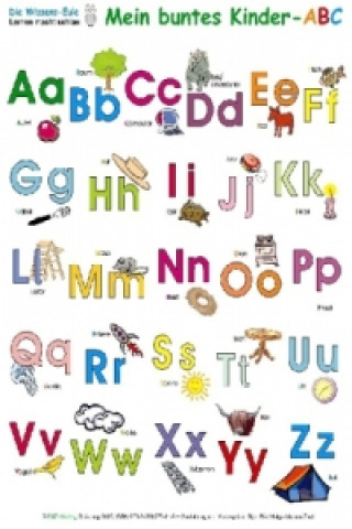 Das bunte Kinder-ABC, Poster
