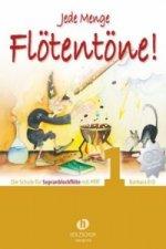 Jede Menge Flötentöne! Für Sopranblockflöte, m. 2 Audio-CDs. Bd.1