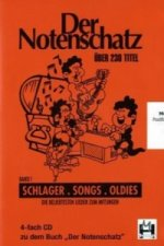 Der Notenschatz, 4 Audio-CDs