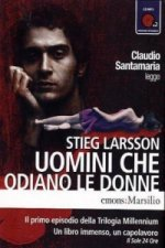 Uomini che odiano le donne, 2 MP3-CDs. Verblendung, italienische Version, 2 MP3-CDs