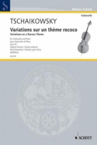 Variationen über ein Rokoko-Thema op. 33