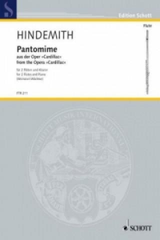 Pantomime, Partitur und Stimmen