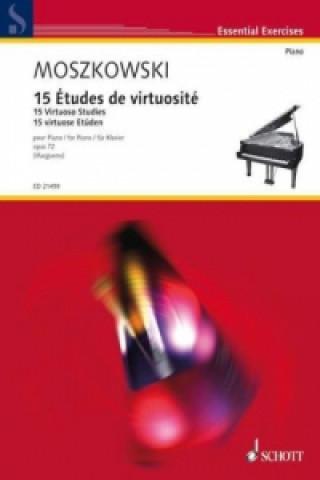 15 Études de virtuosité