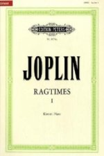 Ragtimes, Klavier. Bd.1