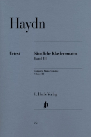 Sämtliche Klaviersonaten. Bd.3
