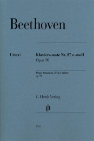 Klaviersonate Nr. 27 e-moll Opus 90