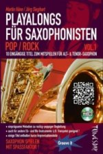 Playalong für Saxophonisten, m. Audio-CD. Vol.1