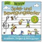 Die 30 besten Spiel- und Bewegungslieder. Vol.3, 1 Audio-CD