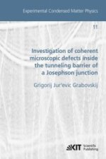 Investigation of coherent microscopic defects inside the tunneling barrier of a Josephson junction