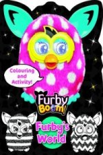Furby Boom Colouring and Activity Furby's World Pink