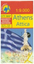 Navasi City Map Athens, Attica